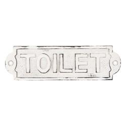 Metalowa Tabliczka Toilet B