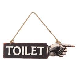 Zawieszka Toilet w Stylu Retro