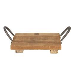 Drewniana Taca w Stylu Rustykalnym D