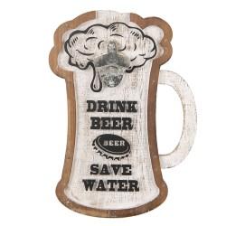 Tabliczka z Otwieraczem do Piwa C