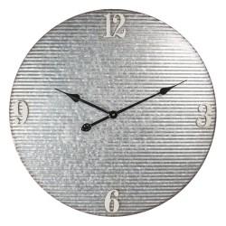 Metalowy Zegar Industrialny Ażurowy