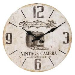 Zegar Vintage z Mapą B