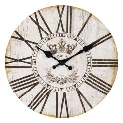 Zegar w Stylu Prowansalskim z Rowerem B