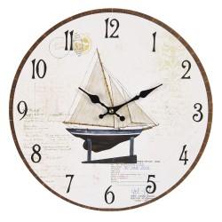 Zegar w Stylu Marynistycznym Lake House