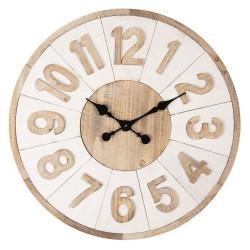 Duży Zegar Drewniany Paris