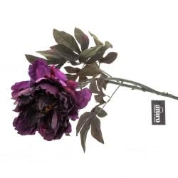 Kwiat Sztuczny Aluro Piwonia Fioletowa