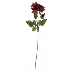 Kwiat Sztuczny Aluro Dalia Brązowa