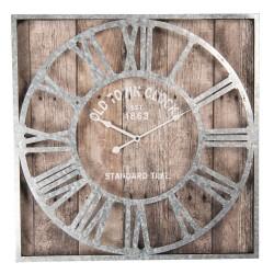 Zegar w Stylu Prowansalskim Szary
