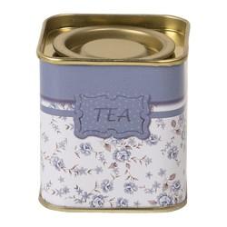 Puszka Na Herbatę w Kwiaty