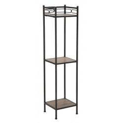 Metalowy Regał Loft Essential Kwadratowy