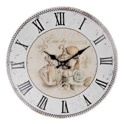 Zegar w Stylu Prowansalskim z Koroną
