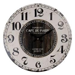 Zegar w Stylu Prowansalskim z Flakonikami