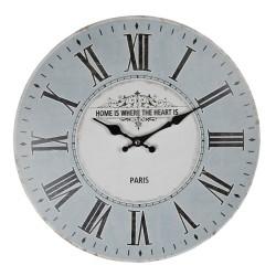 Zegar w Stylu Prowansalskim z Rowerem C