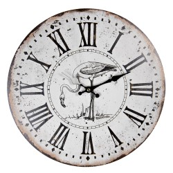 Zegar w Stylu Prowansalskim Postarzany C
