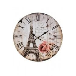 Zegar w Stylu Francuskim Wieża Eiffla