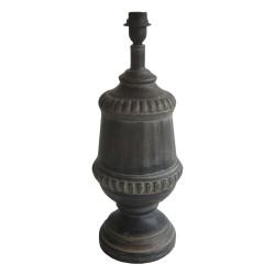 Lampa Stołowa w Stylu Prowansalskim Biała B