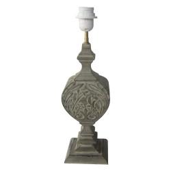 Lampa Stołowa w Stylu Prowansalskim Ozdobna A