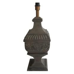 Lampa Stołowa w Stylu Prowansalskim Brązowa A