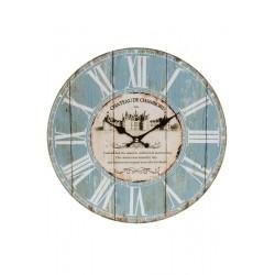 Zegar w Stylu Francuskim Niebieski