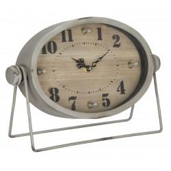 Zegar Stołowy Vintage z Lampkami