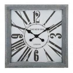 Zegar Retro Kwadratowy London