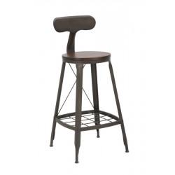 Krzesło Barowe Industrialne Harlem