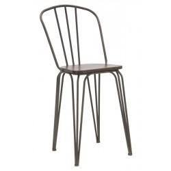 Krzesła Barowe Industrialne Harlem 2szt. A