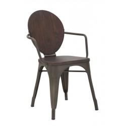 Krzesła Industrialne Harlem 2szt.