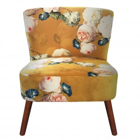 Fotel w Kwiaty A