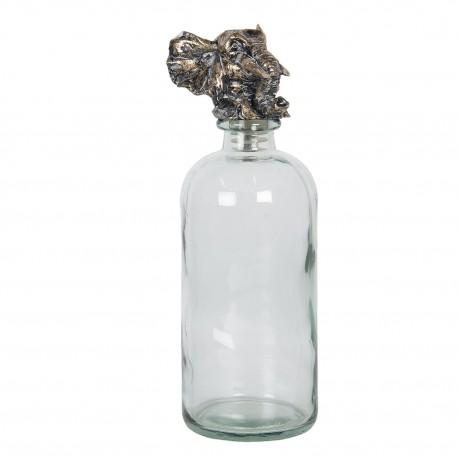 Butelka Ozdobna z Korkiem Żyrafa