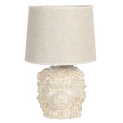 Ceramiczna Lampa Stołowa Lew