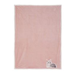 Pled z Kotem Różowy B