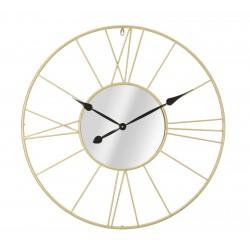 Złoty Zegar z Lustrem Glam Stick