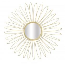 Złote Lustro Glam Daisy