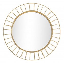 Złote Lustro Glam Ring