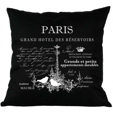 Poduszki Ozdobne PARIS Czarne