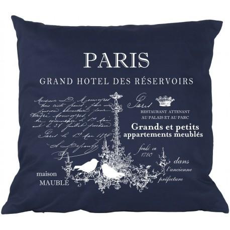 Poduszki Ozdobne PARIS Granatowe