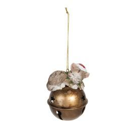 Zawieszki Świąteczne Dzwonki z Kotkami
