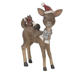 Figurka Świąteczna Jelonek A Clayre & Eef