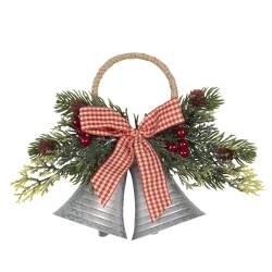 Dzwonki Świąteczne z Gałązkami Do Zawieszenia F