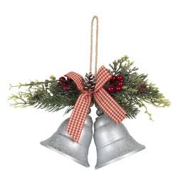 Dzwonki Świąteczne z Gałązkami Do Zawieszenia A