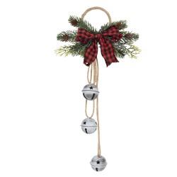 Dzwonki Świąteczne z Gałązkami Do Zawieszenia D Clayre & Eef