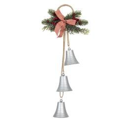 Dzwonki Świąteczne z Gałązkami Do Zawieszenia G Clayre & Eef