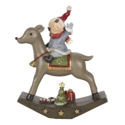 Dekoracja Świąteczna Dziecko Na Jelonku A Clayre & Eef