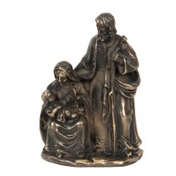 Figurka Świąteczna Brązowa Clayre & Eef