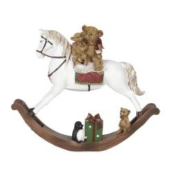Figurka Świąteczna Konik Na Biegunach E Clayre & Eef