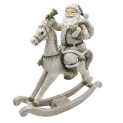 Figurka Świąteczna Konik Na Biegunach D Clayre & Eef