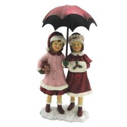 Figurka Świąteczna Dziewczynki z Parasolką Clayre & Eef