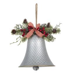 Dzwonek Świąteczny z Gałązkami Do Zawieszenia A Clayre & Eef