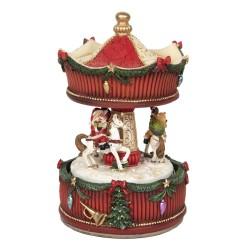 Pozytywka Świąteczna Karuzela A Clayre & Eef